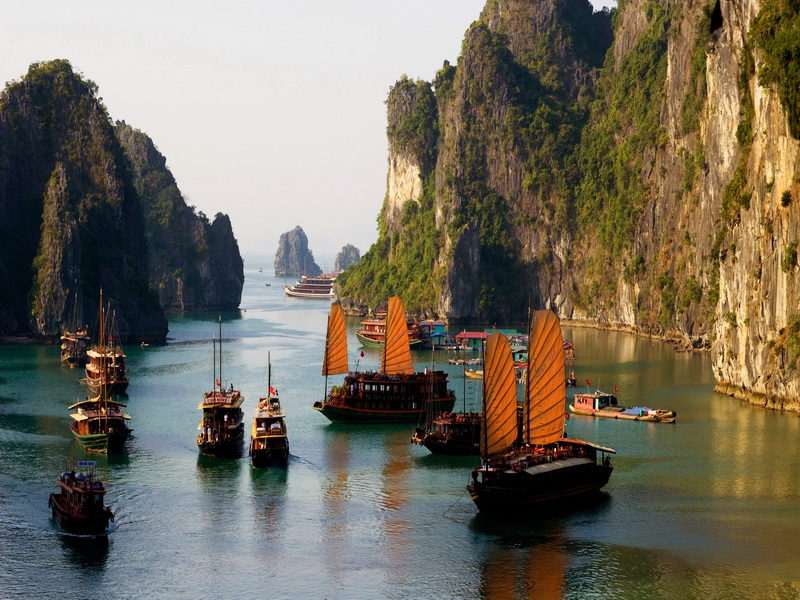 Тур Вьетнам с Севера на Юг